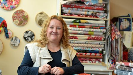 Zoe Woods, owner of Crafty Baba Picture: SARAH LUCY BROWN
