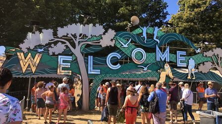 Latitude Gates. It is hoped that this year's event will go ahead Picture: MEGAN ALDOUS