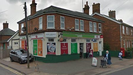 Police were called to the Londis store in Leiston on Sunday night Picture: GOOGLE MAPS