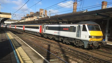 The last traditional Intercity train has now finished on Greater Anglia. Picture: PAUL GEATER