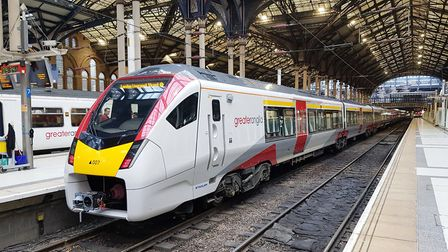 The new Greater Anglia Intercity train is an electric multiple unit. Picture: GREATER ANGLIA