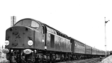 Class 40 diesels took over main line services in the region from the late 1950s. Picture by Aubrey