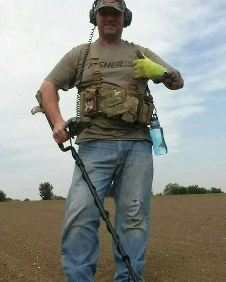 Tyrone Holman was the man who discovered the ring whilst he was metal detecting the 300 acres of lan
