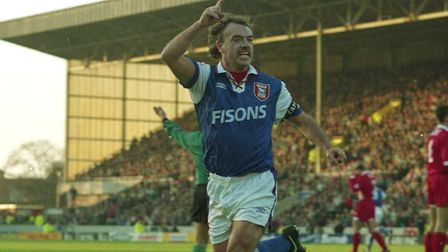 John Wark is Karl Fuller's all-time favourite Ipswich Town player Picture: ARCHANT