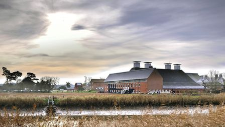 Snape Maltings and the River Alde from the Sailor's Path Photo: Philip Vile