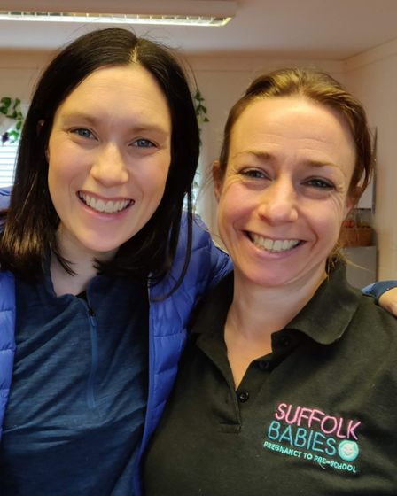 Jo Cresdee, Suffolk Babies CEO, who teaches all the online baby and toddler and antenatal classes an