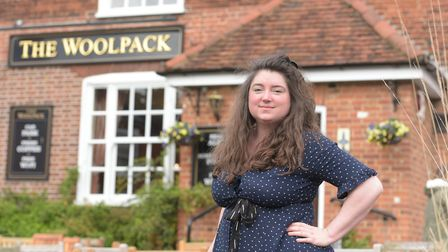 The Woolpack is one of many pubs and restaurants who have started a take-away delivery service for i