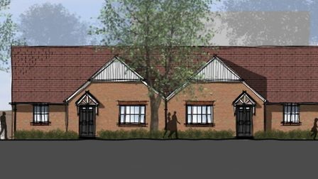 Designs for 104 homes which are to be built in Thurston have been revealed. Picture: PEGASUS DESIGNS
