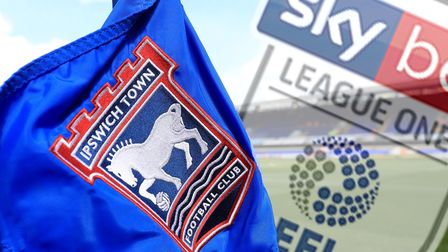 Ipswich Town now in League One. Picture: PA
