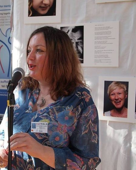 Sam was honoured to speak about Using Spirituality to Overcome Depression at the Suffolk User Forum