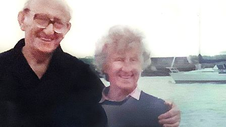 Olive and her late husband Stanley Picture: SUPPLIED BY FAMILY