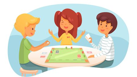 You can make this board game at home