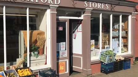 Boxford Stores was broken into overnight. Picture: RICHARD HAINING