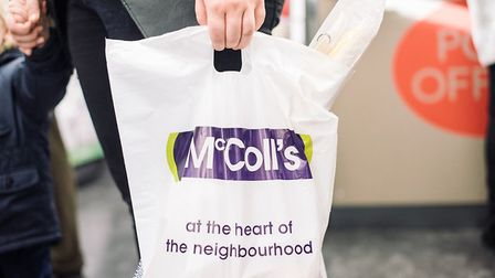 For those who can't fetch their own McColl's groceries, the store chain is launching a delivery serv