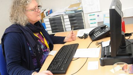 Citizens Advice Ipswich has helped 300 people in a fortnight. This photo was taken before the govern