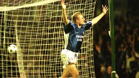 Mark Venus was also among the scorers as Town beat Charlton in 1999