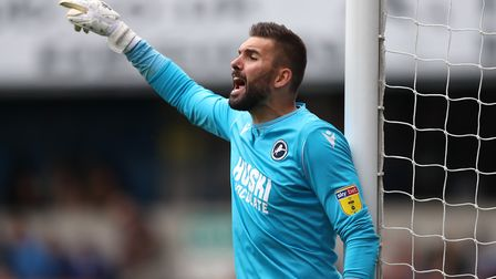 Bartosz Bialkowski joined Millwall on a permanent basis in January. Picture: PA
