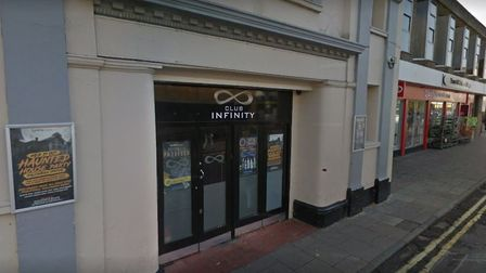 The attack took place inside Infinity nightclub, in Sudbury Picture: GOOGLE