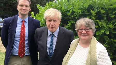 Dr Dan Poulter and Dr Therese Coffey were visited by Boris Johnson during his leadership campaign, P