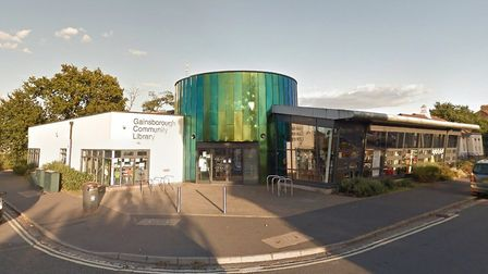 Gainsborough Library is one of the worst affected by anti-social behaviour across Suffolk. Picture: