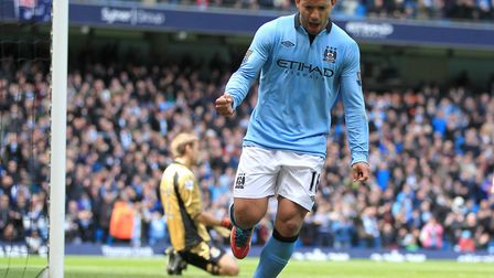 Sergio Aguero's Manchester City sides top the list of most entertaining teams in a single Premier Le
