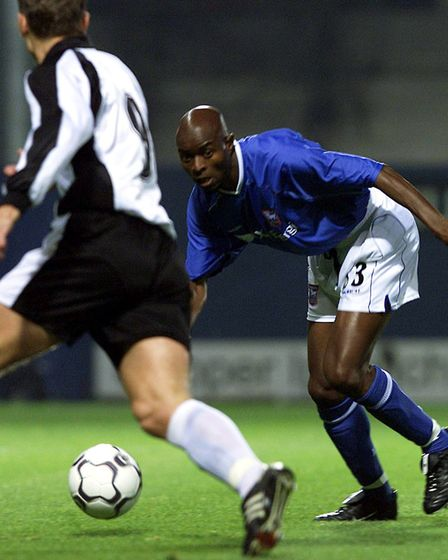 Town signed Nigerian superstar Finidi George for the 2001/02 season, but were relegated. Picture: PA