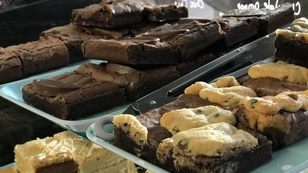 Brownies and cookies at BMC Cakery, Ipswich Picture: Ella Wilkinson