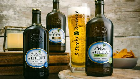 St Peter's Brewery's Without beer range Picture: ST PETER'S BREWERY