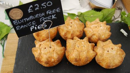 Truly Traceable pies Picture: Snape Farmers' Market