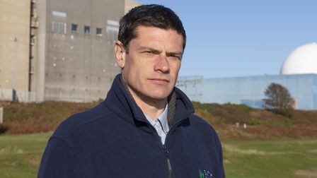 Suffolk Wildlife Trusts head of conservation, Ben McFarland Picture: SARAH GROVES/SWT