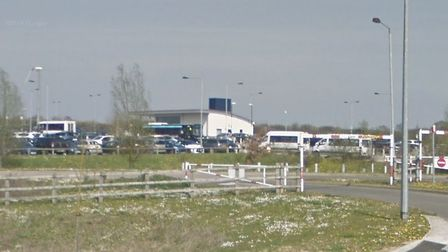 The park and ride at Chelmer Valley Picture: GOOGLE MAPS