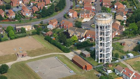 Trimley Water Tower Picture: MIKE PAGE