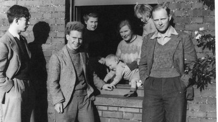Margery Spring Rice & family in1939 Photo: Lucy Pollard