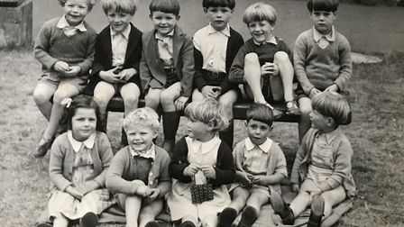 Margery Spring Rice's photo of her nursery of evacuees during World War II Photo: Lucy Pollard