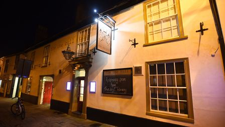 The One Bull pub in Bury St Edmunds in 2018 when it reopened after major fire damage Picture: GREGG