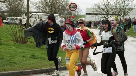 The Sudbury Fun Run is a yearly event that has been going on since the late 1980s.