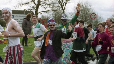 The run encourages fancy dress and regularly see's a wide selection of characters take part in the f