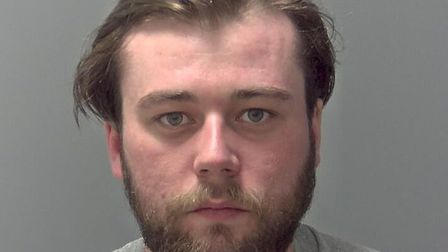 Zeb Fitts, 25, of no fixed address, has been jailed for spitting at two West Suffolk Hospital nurses
