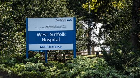 The incident took place at West Suffolk Hospital in Bury St Edmunds Picture: SARAH LUCY BROWN