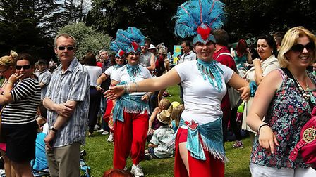 Sudbury's Party in the Park in previous years. Picture: ROBIN LOWE/ARCHANT ARCHIVES