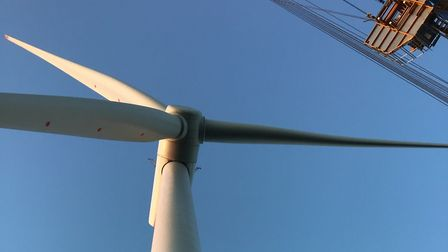 Final turbine is installed on East Anglia ONE Picture: SIEMENS GAMESA