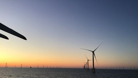 Preparation for installation on East Anglia ONE Picture: SIEMENS GAMESA