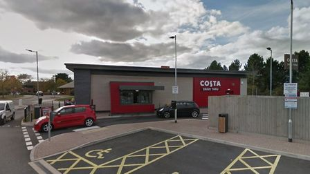 Costa Coffee will re-open for drive-thru at Ipswich's Euro Retail Park. Picture: GOOGLE MAPS