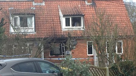 Clive Connolly, 74 died in a house fire in Yoxford Picture: ANDREW PAPWORTH