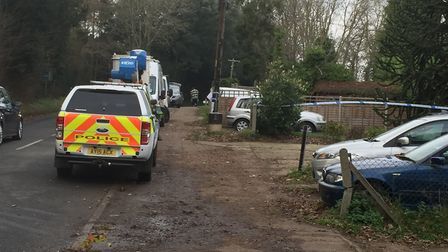 Clive Connolly, 74, died in a house fire in Yoxford Picture: ANDREW PAPWORTH