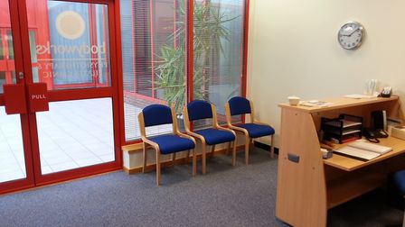 Bodyworks Physiotherapy is now empty of patients, but business rates, rent and bills still have to b