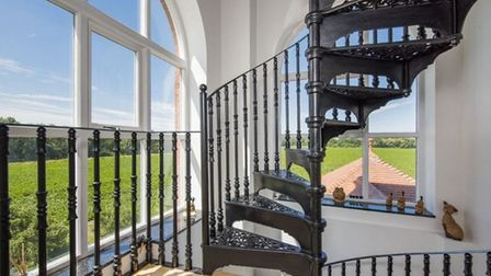 The converted water tower is on the market for £1 million. Picture: DAVID BURR/MIKE FLETCHER CHEVRO