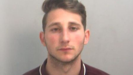Lee Sexton has been jailed after hitting a man with a hammer Picture: ESSEX POLICE