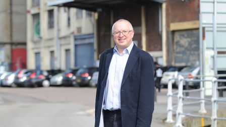 Ipswich council leader David Ellesmere warned some authorities could face bankruptcy. Picture: SARAH