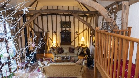 The Old Barn in Weybread, Suffolk, is on sale for £650,000. Picture: FINE & COUNTRY